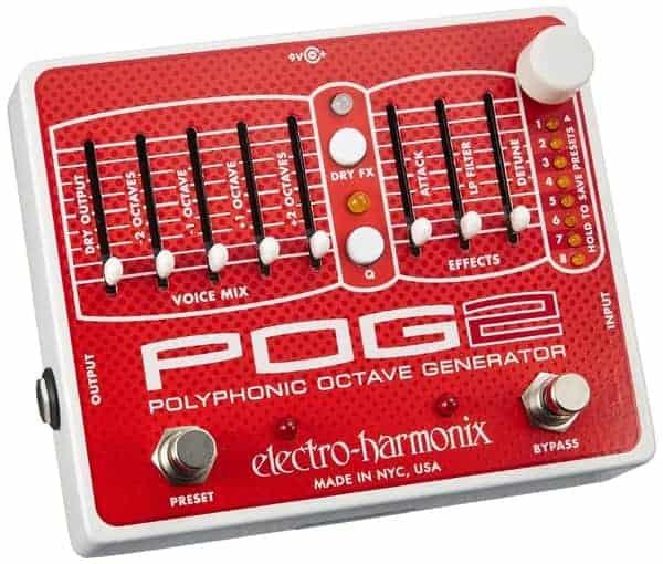 Electro-Harmonix POG2 Guitar Octave Pedal