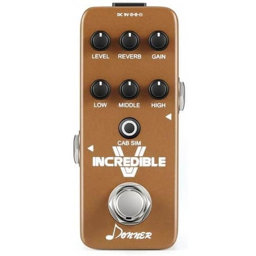 Donner Incredible V Mini Electric Guitar Preamp Effect Pedal