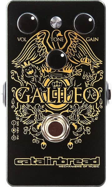 Catalinbread Galileo booster pedal