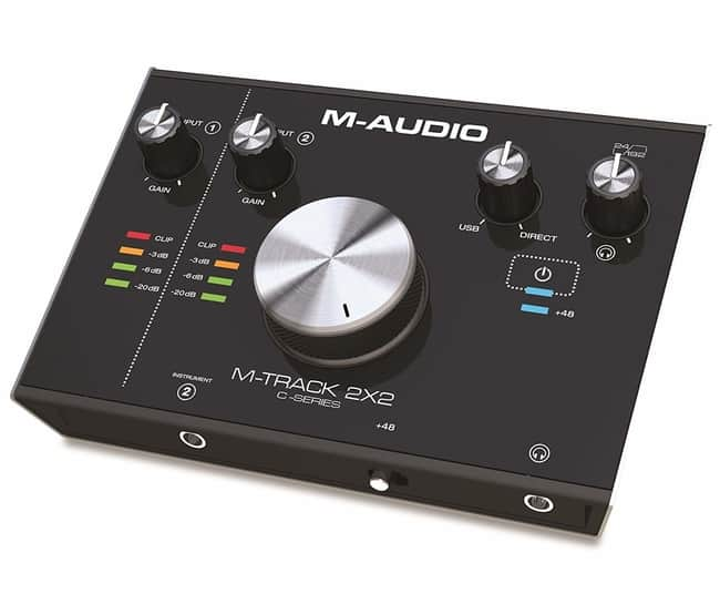 M-Audio M-Track Audio Interface for Guitar Recording