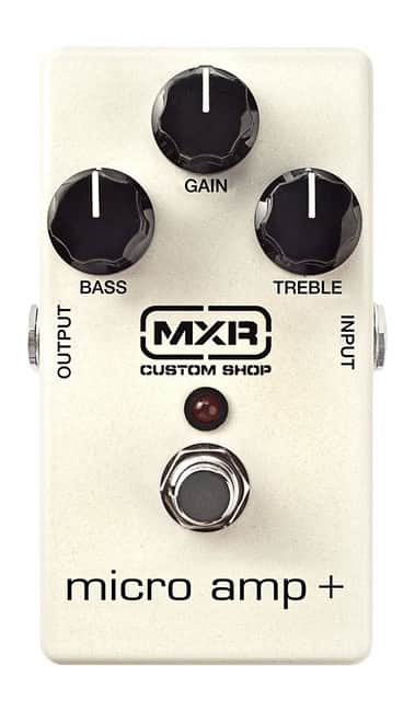 MXR Micro Amp Plus Boost Pedal for guitar