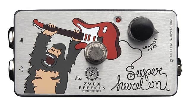 ZVEX Effects Super Hard On Vexter Series Boost Pedal