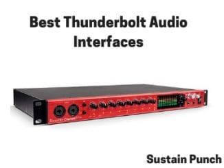 Thunderbolt Audio Interfaces