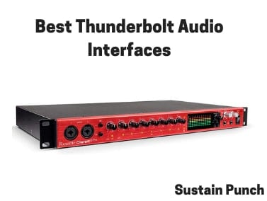 Top 19 Best Thunderbolt Audio Interfaces (2019 Review) 🥇