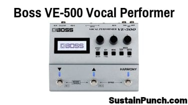 Boss VE-500 Review (2019) | Sustain Punch