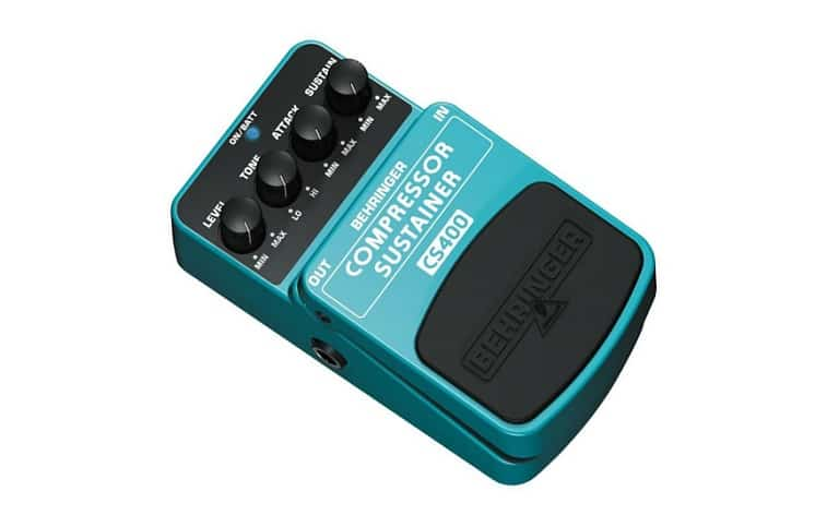 Behringer Compressor/Sustainer CS400 Ultimate Dynamics Effects Pedal
