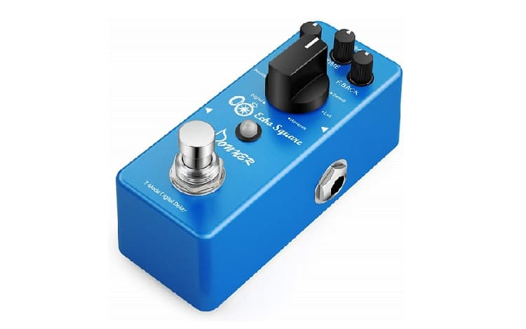 Donner Multi Digital Delay Pedal Echo Square