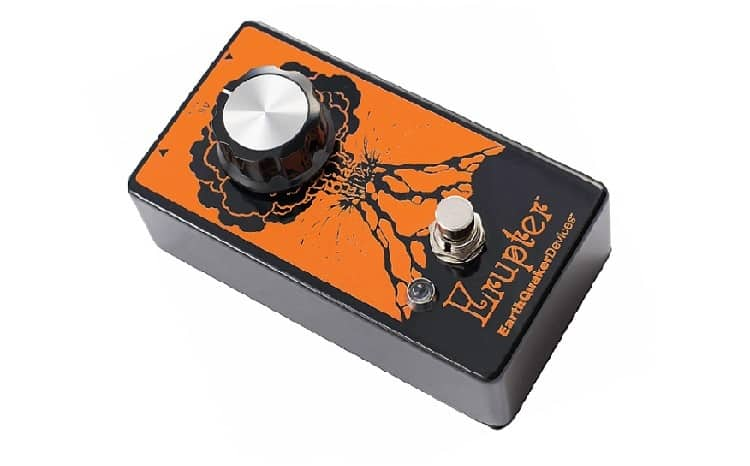 EarthQuaker Devices Erupter Ultimate Fuzz Tone Guitar Effects Pedal