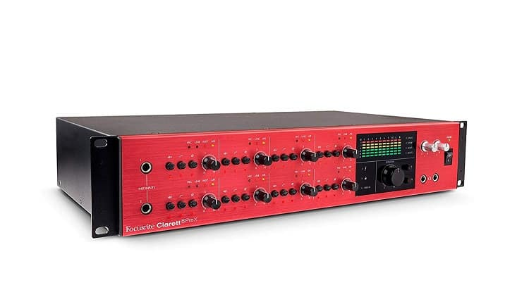 Focusrite Clarett 8PreX style:8PreX – 26 in / 28 out