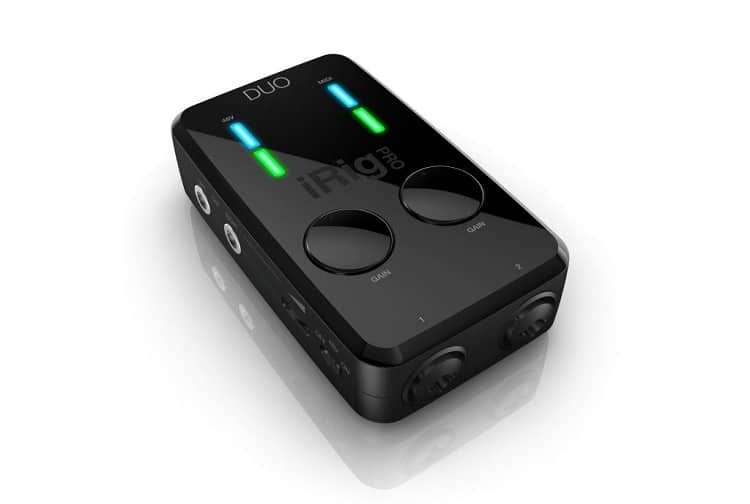Iphone interface IK Multimedia iRig PRO DUO