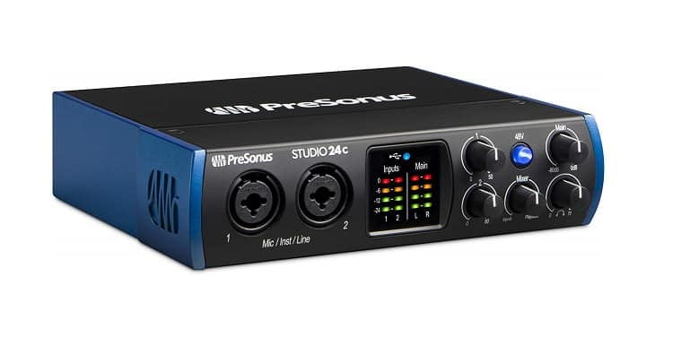 Low Latency PreSonus Studio USB-C Audio Interface