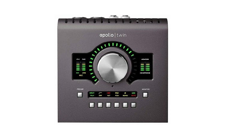 Low Latency Universal Audio Apollo Twin MKII Solo