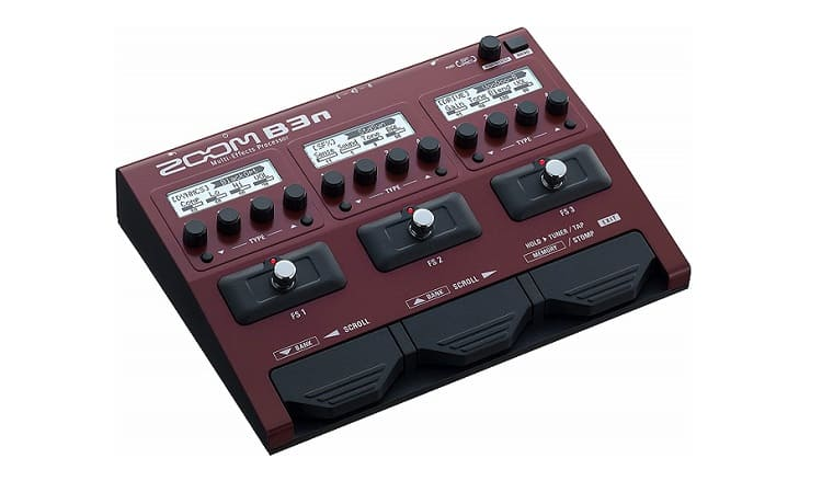 Zoom B3n Bass MultiEffects Pedal