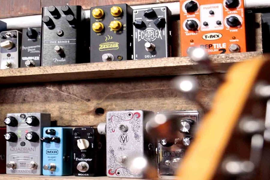 Types Of Guitar Pedals Explained