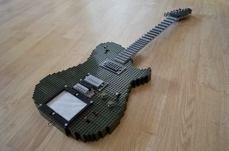 Real Lego Guitar