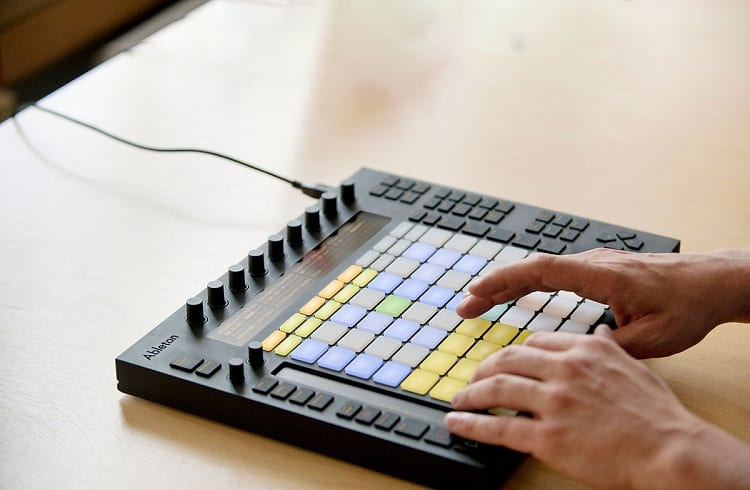 Using Ableton