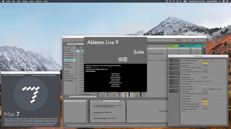 Ableton On MAC