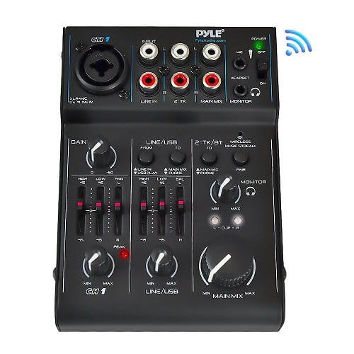 3 Channel Bluetooth Audio Mixer