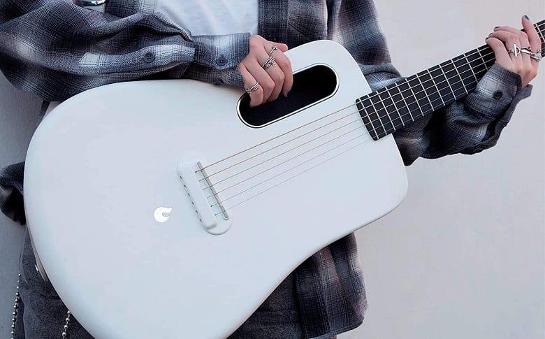 Lava Acoustic Electric Travel Guitar