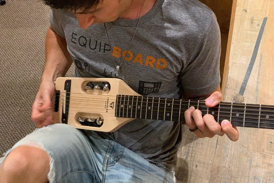 Best Travel Electric Guitar - For That On The Go Rocking